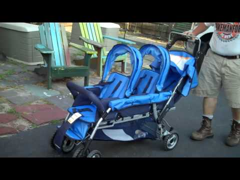 BMFU has TRIPLETS Over Fixing a Foundation Multi-Child STROLLER Trio