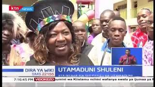 Utamaduni wa Kiafrika umesherekewa shuleni