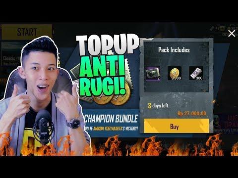 UC NYA KOK JADI MURAH BANGET? TUTORIAL TOPUP ANTI RUGI - PUBG Mobile Indonesia