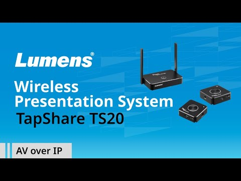Wireless Presentation System TapShare TS20 | Lumens