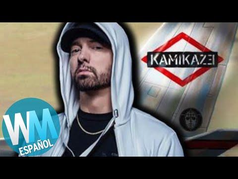 ¡Top 5 Ataques de EMINEM en KAMIKAZE!