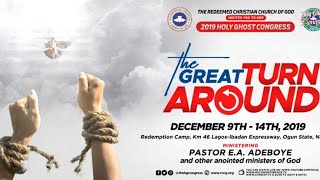 DAY 2 EVENING SESSION - RCCG HOLY GHOST CONGRESS 2019 - THE GREAT TURNAROUND