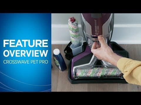 Bissell CrossWave Pet Pro BS2225N kaina ir informacija | Dulkių siurbliai-šluotos | pigu.lt