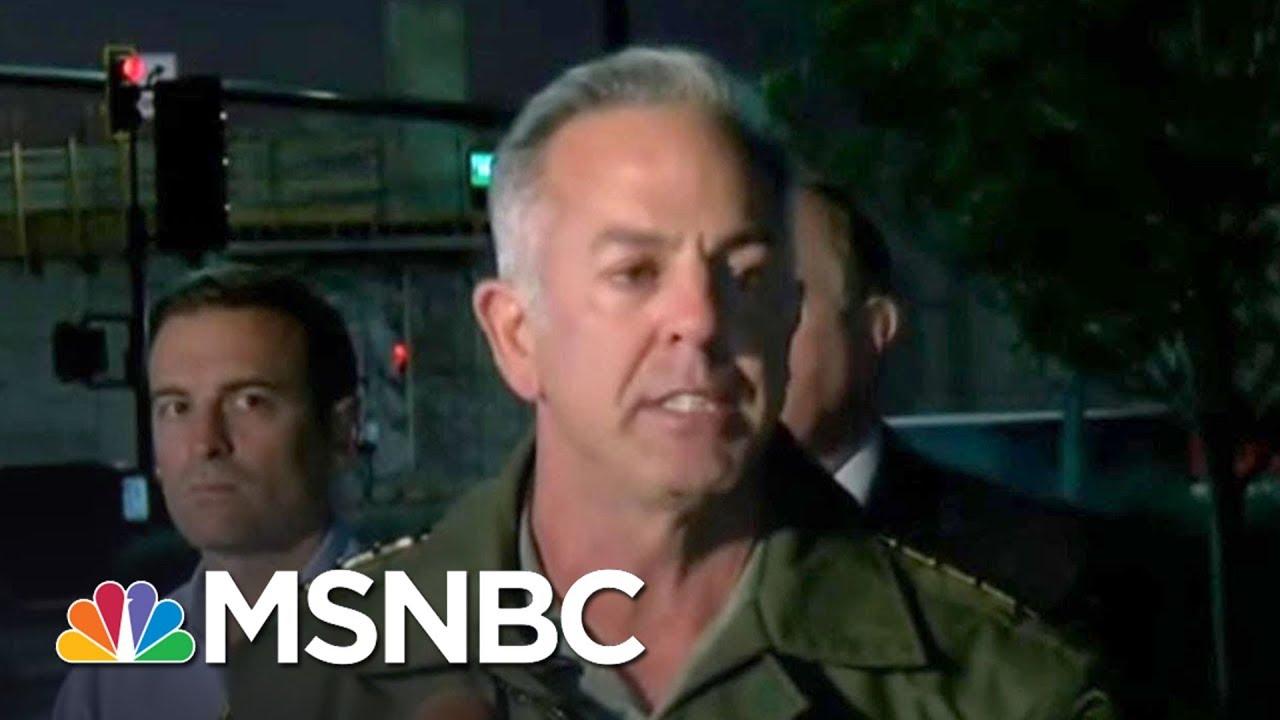 Las Vegas Sheriff: Suspect Had 'An Excess Of 10 Rifles' | MSNBC thumbnail