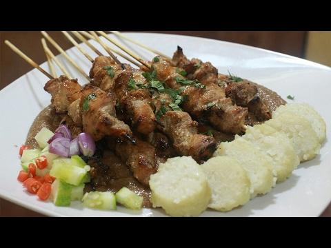 Video Resep Sate Ayam Lengkap Dengan Bumbu Kacang