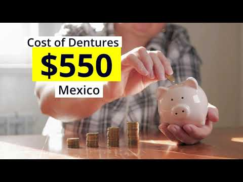 High-Quality Top Denture Package in Mexico