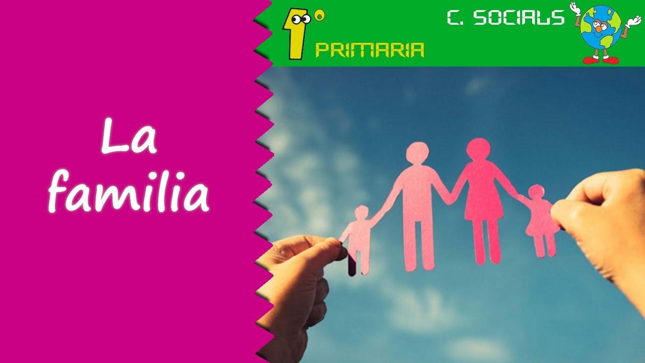 Ciències Socials. 1º Primaria. Tema 2: La familia