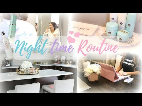 MY NIGHT TIME ROUTINE 2018!🌃💕 -SLMissGlam🌟💕