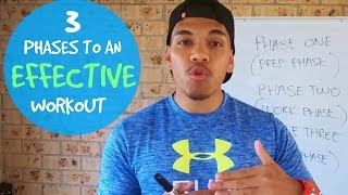 How To Workout Properly For Beginners – 3 Phases Of An Effective Workout
