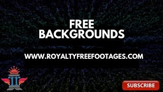 HD Blue Green #fractals #cosmic | Royalty Free Stock Videos | Footages