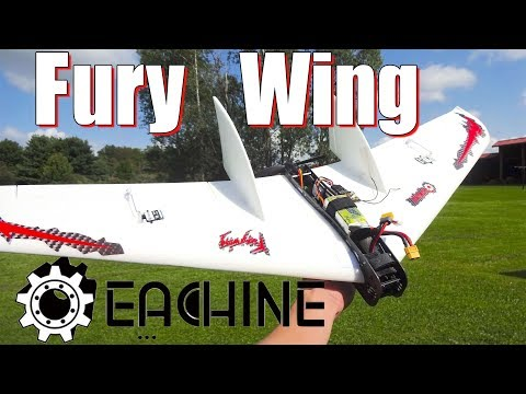 eachine-fury-wing--quick-overview-and-flight