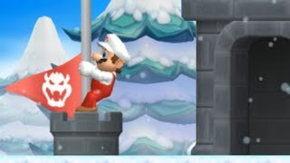 Another Super Mario Bros Wii - All Secret Exits
