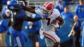#6 Georgia Highlights Vs. #9 Kentucky 2018 | CFB Week 10 | College Football Highlights 2018