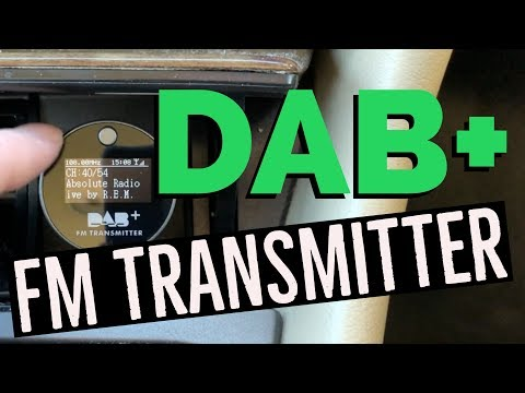 In Car DAB Car Radio Adapter Review - DAB FM Transmitter from Aliexpress