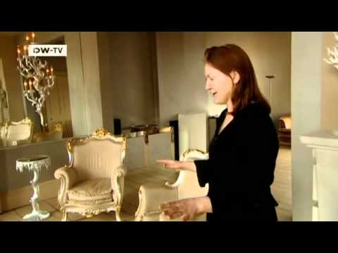 Wohnen im Barockstil: Das Haus der Künstlerin Oriel Harwood in London | euromaxx