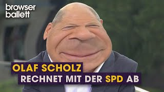 Olaf Scholz im Gespräch