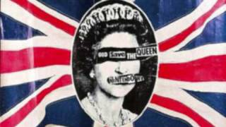 KAOS PUNK SEXPISTOLS GOD SAVE THE QUEEN