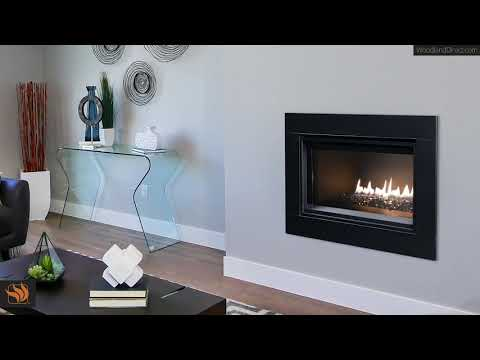 DRL2000 Direct Vent Linear Fireplace With Surround