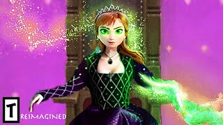 Anna Turns Into The Evil Queen Of Arendelle In Frozen 3