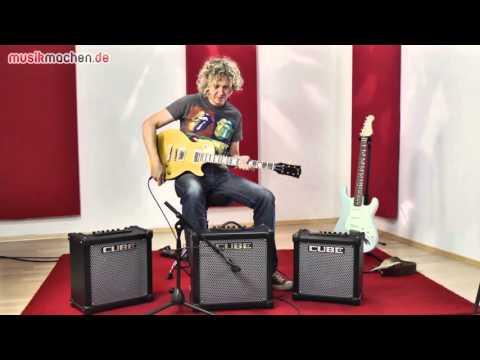 Roland Cube-20GX, Cube-40GX, Cube-80GX E-Gitarren-Combos im Test