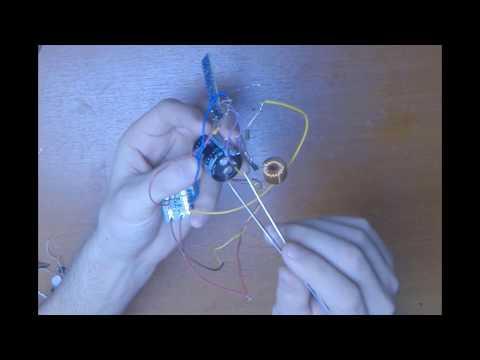 Измерение тока насыщения катушки индуктивности ч1