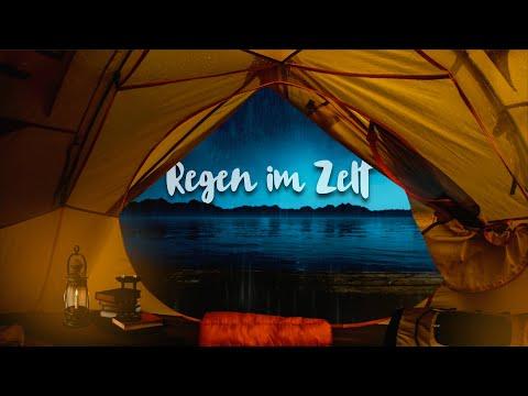 Regengeräusche auf einem Zelt (10 Stunden) 🌧️⛺ Das Geräusch von Regen auf einem Zelt zum Einschlafen