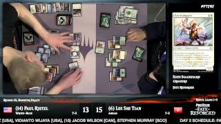 Pro Tour Fate Reforged Round 10 (Draft): Paul Rietzl vs. Lee Shi Tian
