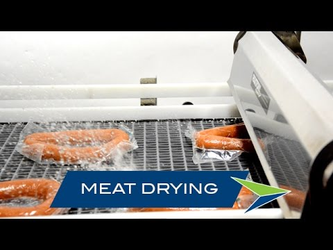 Packaged Meat Drying with Air Knife