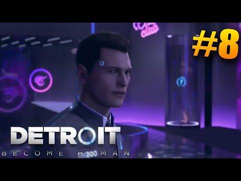 NÁVŠTĚVA STRIPBARU! ( ͡° ͜ʖ ͡°) Detroit: Become Human #8 CZ/SK