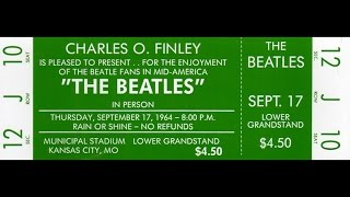 The Beatles ~ Kansas City/Hey Hey Hey Hey September 17 1964 - 50 years ago!