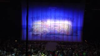 Kenny Chesney The Big Revival Tour 2015 opening.  Bridgestone Arena, March 26, 2015