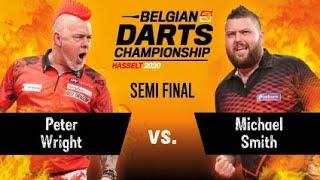 Belgian Darts Championship 2020, March 1 - Semi Final - Peter Wright Vs. Michael Smith