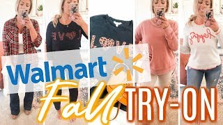 WALMART FALL TRY-ON   Fall Sweaters, Shoes & Accessories