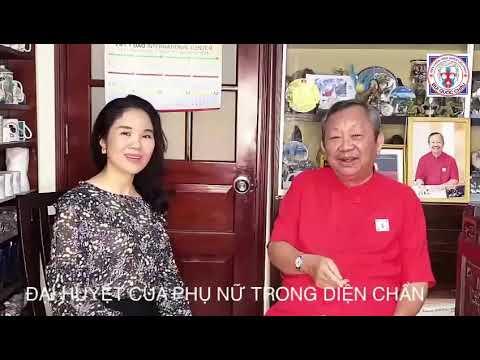 Thầy Bùi Quốc Châu - Đại huyệt của phụ nữ theo Diện Chẩn - Ý nghĩa & Tác dụng
