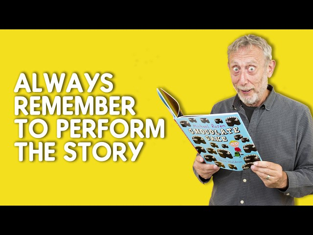 Michael Rosen's top tips for performing poems and stories