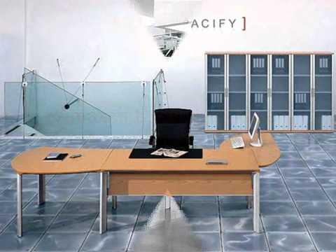 Contemporary Desks | Modern Executive Desks | Desk Sets and Accessories-Spacify.com