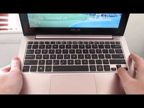 Asus VivoBook X202e Windows 8 touchscreen notebook review