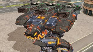 War Robots - EPIC Fury Thunder Gameplay !
