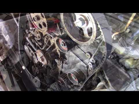 Ремонт автомобиля Nissan Patrol 1992 RD28 Замена прокладки ГБЦ Часть вторая