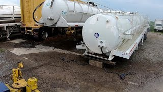 Loaded Tanker Takes A Dive....Nose Dive That Is