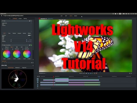 Lightworks Beta V14 Tutorial – Major Improvements – Verson 14 Lightworks Video Editor – Linux