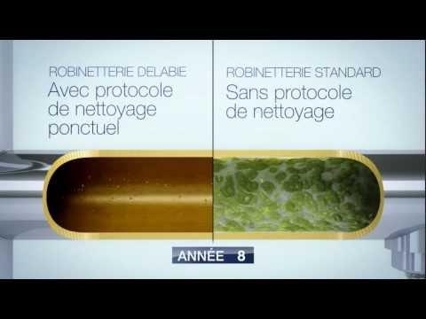 BIOSAFE par Delabie - Maîtrise de la prolifération bactérienne dans les robinetteries