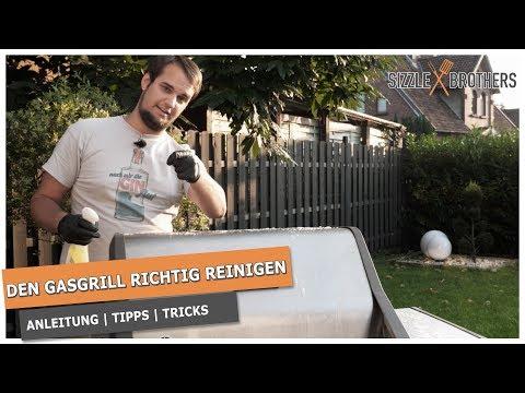 Gasgrill reinigen | Grillrost reinigen | Grillreiniger