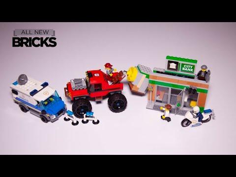 Vidéo LEGO City 60245 : Le cambriolage de la banque
