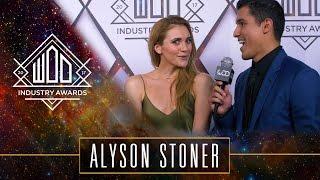 Alyson Stoner   #WODAWARDS17   Red Carpet