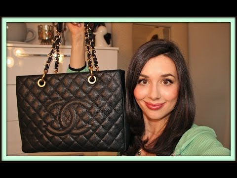 What's in my Chanel Grand Shopping Tote & Review