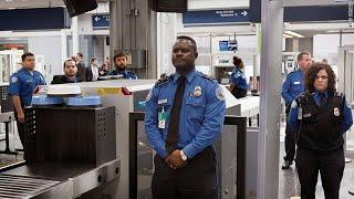 Airport security guard training duties and responsibilities.