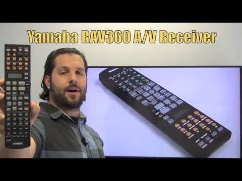 YAMAHA RAV360 Audio/Video Receiver Remote Control