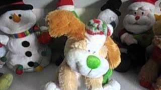 singing dog christmas toys 2015 animated toy - Singing Christmas Toys