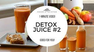 1-Minute Video! DETOX JUICE #2 | Healthy | Diet | Weightloss